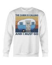 The Cabin Is Calling Crewneck Sweatshirt thumbnail
