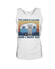 The Cabin Is Calling Unisex Tank thumbnail