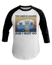 The Cabin Is Calling Baseball Tee thumbnail