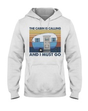 The Cabin Is Calling Hooded Sweatshirt front
