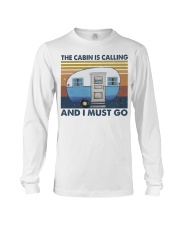 The Cabin Is Calling Long Sleeve Tee thumbnail