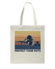 Protect Your Nuts Tote Bag thumbnail