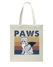 Paws Cat Tote Bag thumbnail