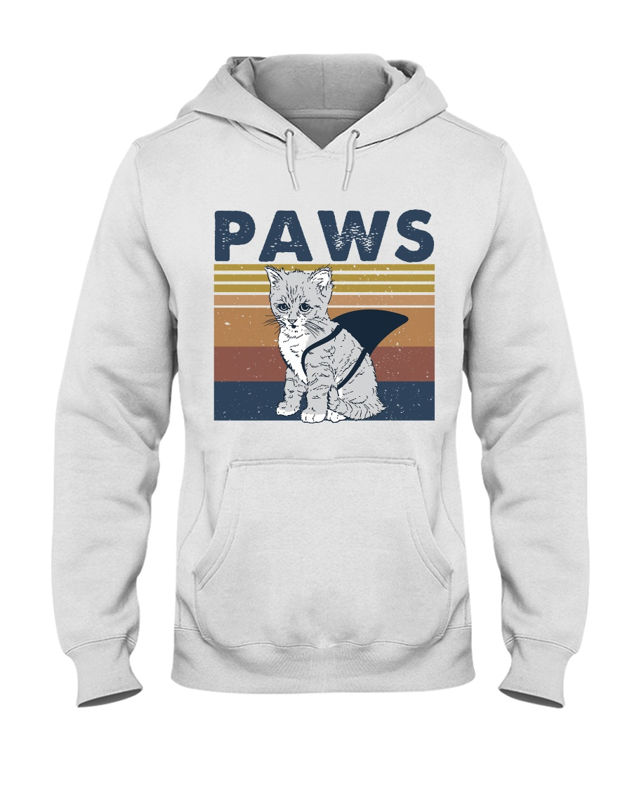 Paws Cat Hooded Sweatshirt