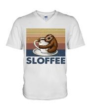 Sloffee V-Neck T-Shirt thumbnail