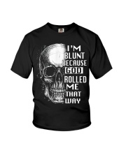 God Rolled Me That Way Youth T-Shirt thumbnail