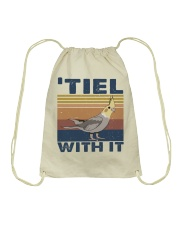 Tiel With It Drawstring Bag thumbnail