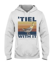 Tiel With It Hooded Sweatshirt front