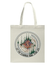 Let The Compass Tote Bag thumbnail