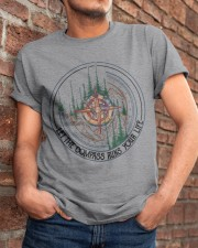 Let The Compass Classic T-Shirt apparel-classic-tshirt-lifestyle-26
