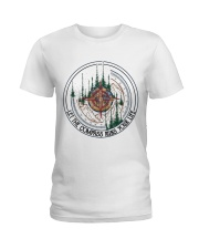 Let The Compass Ladies T-Shirt thumbnail