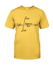 Calculus Life Classic T-Shirt front