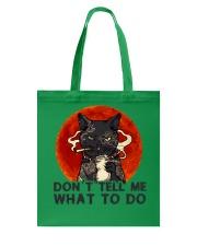 Don't Tell Me Tote Bag thumbnail