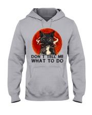 Don't Tell Me Hooded Sweatshirt thumbnail