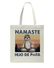 Namaste Hijo De Tote Bag thumbnail