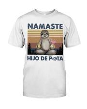 Namaste Hijo De Classic T-Shirt thumbnail