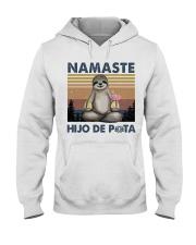Namaste Hijo De Hooded Sweatshirt front