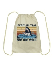 I Wait All Year Drawstring Bag thumbnail