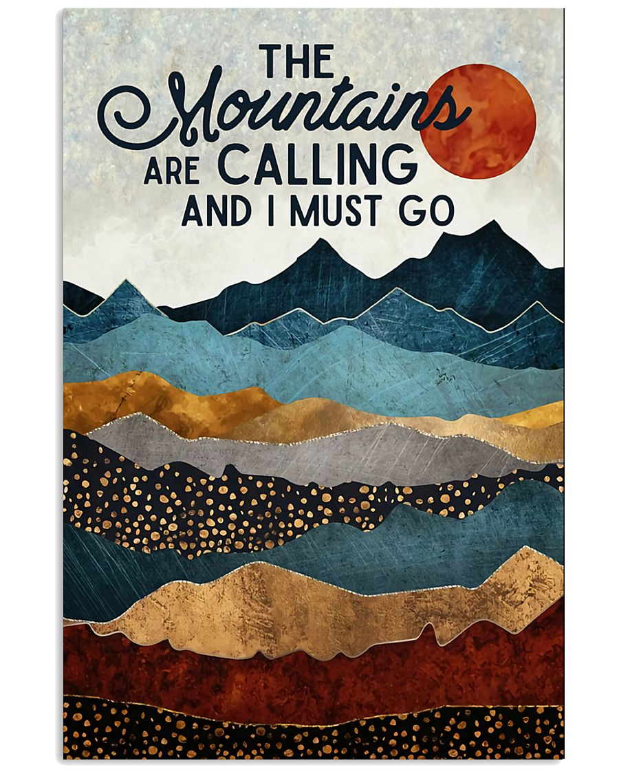 The Mountains Are Calling 11x17 Poster