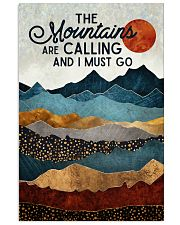 The Mountains Are Calling 11x17 Poster front