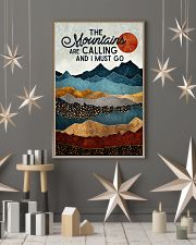 The Mountains Are Calling 11x17 Poster lifestyle-holiday-poster-1