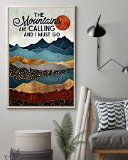 The Mountains Are Calling 11x17 Poster lifestyle-poster-1