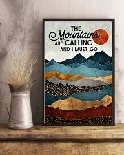 The Mountains Are Calling 11x17 Poster lifestyle-poster-3
