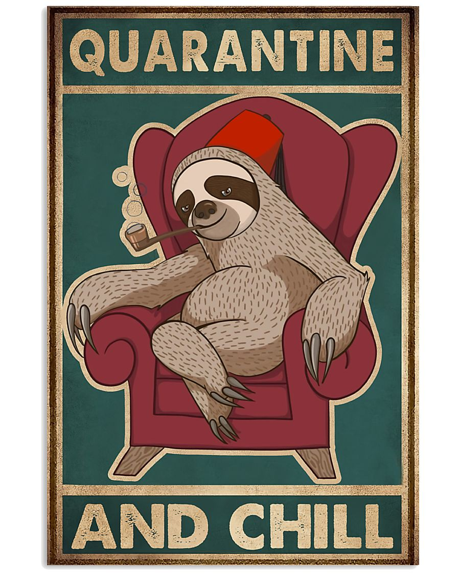 Quarantine And Chill 11x17 Poster