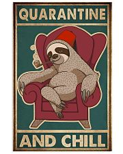 Quarantine And Chill 11x17 Poster front