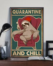 Quarantine And Chill 11x17 Poster lifestyle-poster-2