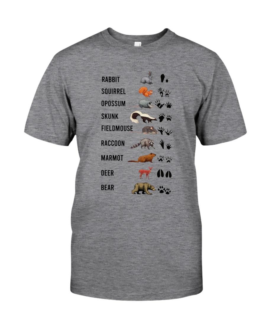 Woodland Animal Tracks Classic T-Shirt