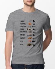 Woodland Animal Tracks Classic T-Shirt lifestyle-mens-crewneck-front-13