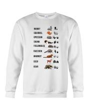 Woodland Animal Tracks Crewneck Sweatshirt thumbnail