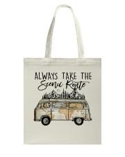 Always Take the Scenic Route Tote Bag thumbnail