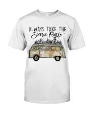 Always Take the Scenic Route Premium Fit Mens Tee thumbnail