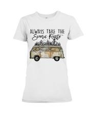 Always Take the Scenic Route Premium Fit Ladies Tee thumbnail