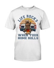 Life Rocks When Your Home Roll Premium Fit Mens Tee thumbnail
