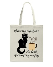 Heres My Cup Of Care Tote Bag thumbnail