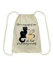 Heres My Cup Of Care Drawstring Bag thumbnail