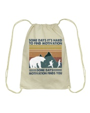 Some Days It Is Hard To Find Drawstring Bag thumbnail