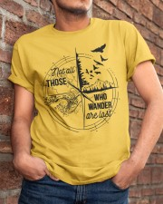 Not All Those Who Classic T-Shirt apparel-classic-tshirt-lifestyle-26