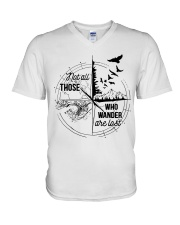 Not All Those Who V-Neck T-Shirt thumbnail