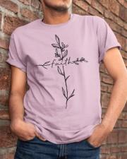 Cross Faith Flower Classic T-Shirt apparel-classic-tshirt-lifestyle-26