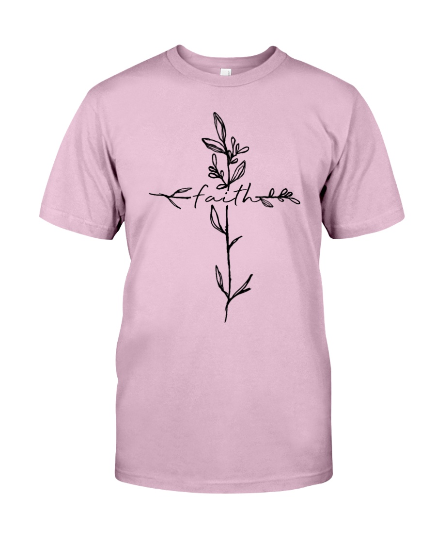 Cross Faith Flower Classic T-Shirt