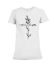 Cross Faith Flower Premium Fit Ladies Tee thumbnail