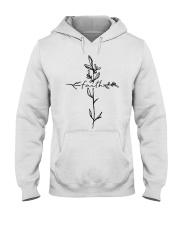 Cross Faith Flower Hooded Sweatshirt thumbnail