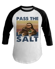 Pass The Salt Baseball Tee thumbnail
