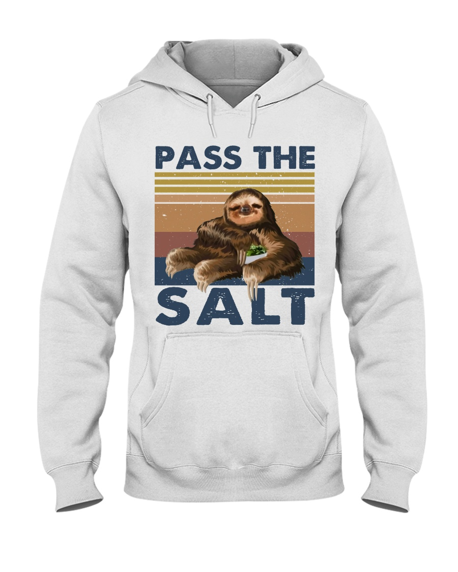 Pass The Salt Hooded Sweatshirt