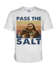 Pass The Salt V-Neck T-Shirt thumbnail