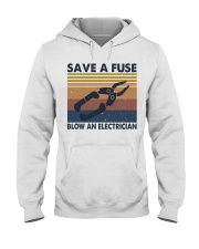 Save A Fuse Hooded Sweatshirt front